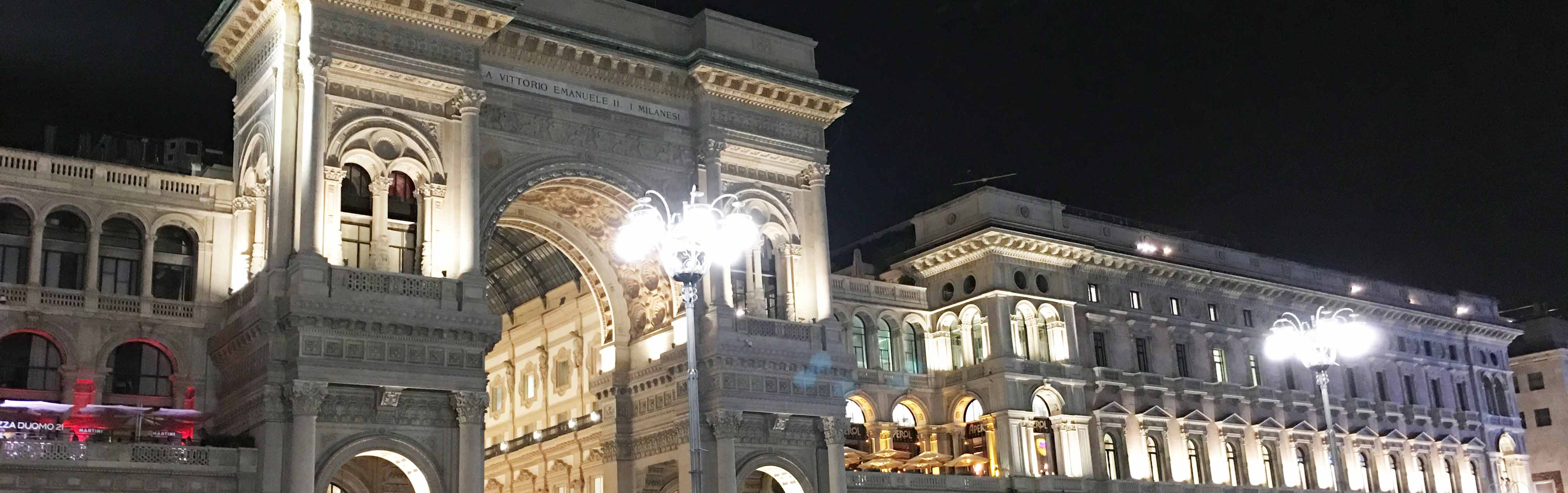 Galleria, Milano