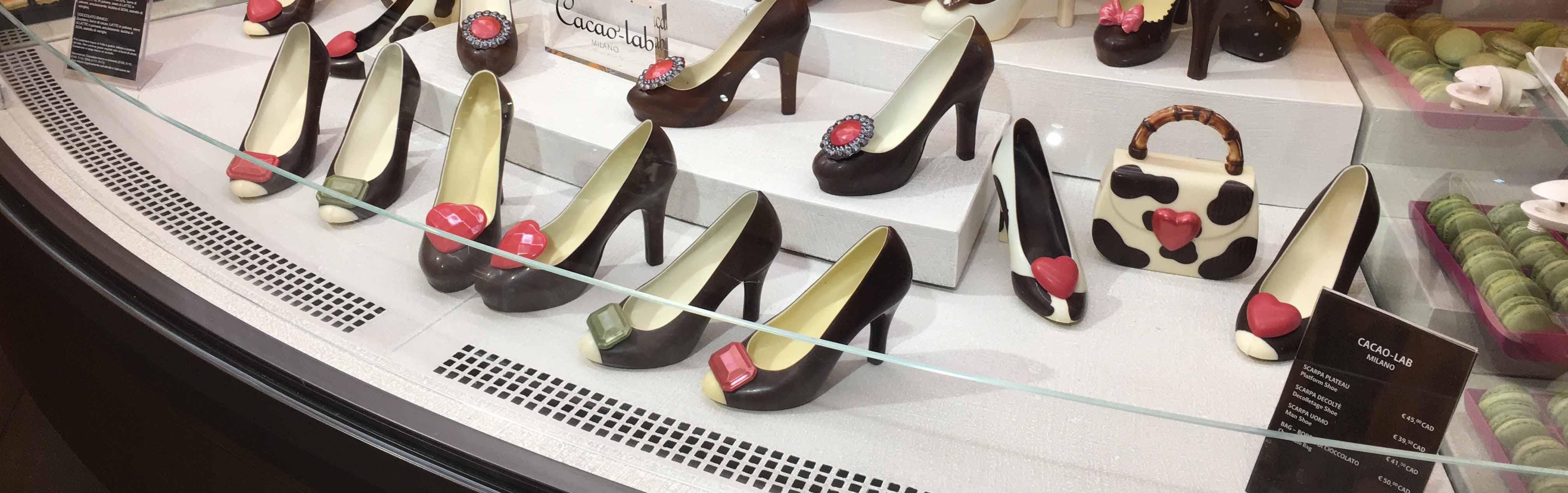 Scarpe di cioccolato, Milano